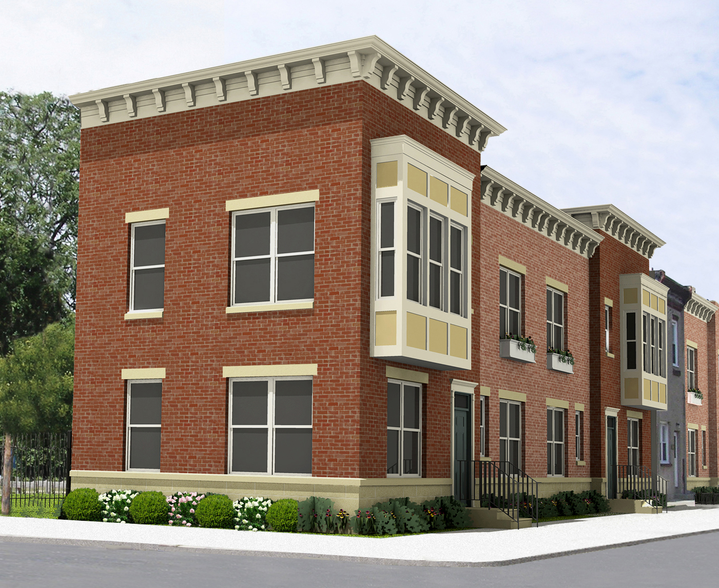 Strawberry Mansion Townhomes